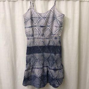 madewell shibori cami dress